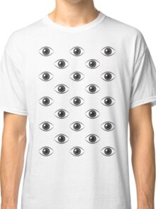 Eyes Wide Open - Black and White Classic T-Shirt