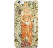 William Morris Floral Pattern iPhone Case/Skin