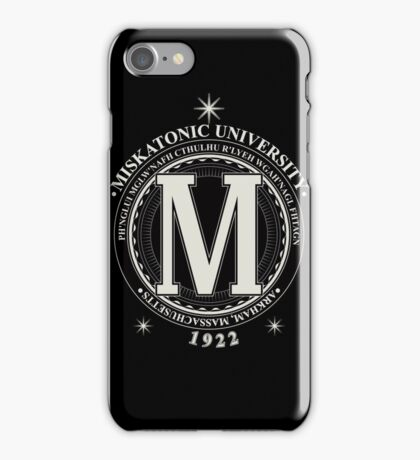 Miskatonic University - Fhtagn (Dark) iPhone Case/Skin