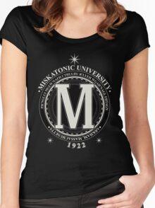 Miskatonic University - Fhtagn (Dark) Women's Fitted Scoop T-Shirt