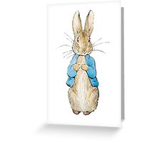 Peter Rabbit Greeting Card