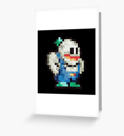 Snow Brothers Blue Greeting Card