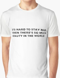 American Beauty Movie Quote Graphic T-Shirt