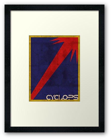Minimalist Cyclops by Adam Grey