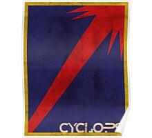 Minimalist Cyclops Poster