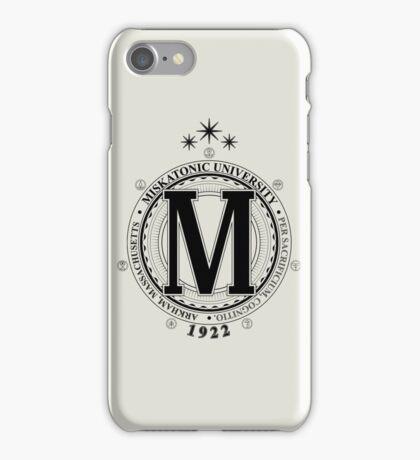 Miskatonic University - Per Sacrificium, Cognitio (Light) iPhone Case/Skin