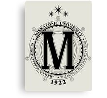 Miskatonic University - Per Sacrificium, Cognitio (Light) Canvas Print