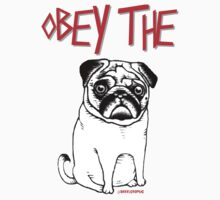 OBEY THE PUG One Piece - Long Sleeve