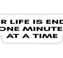 Fight Club Movie Quote Sticker