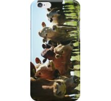 Cow Line iPhone Case/Skin