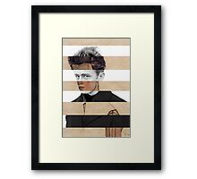 "Schiele's ""Self Portrait"" & James Dean Framed Print"