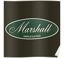 Marshall Amplification Oval Poster