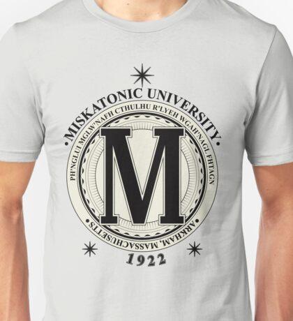 Miskatonic University - Fhtagn (Light) Unisex T-Shirt