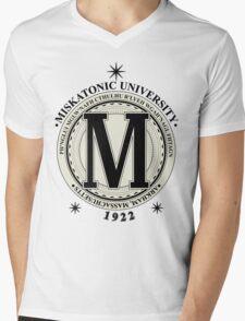 Miskatonic University - Fhtagn (Light) Mens V-Neck T-Shirt