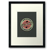 Rockabilly 60's Good Old Days  Framed Print