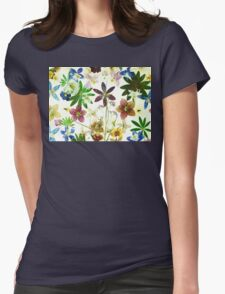Floral May 2 Womens Fitted T-Shirt