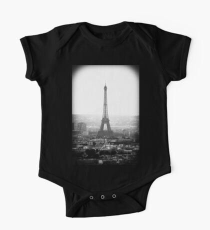Towering Eiffel Tower One Piece - Short Sleeve