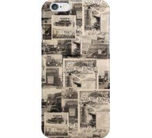 VINTAGE BAG iPhone Case/Skin