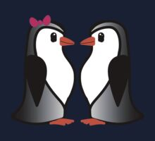 Penguin Lovers One Piece - Short Sleeve