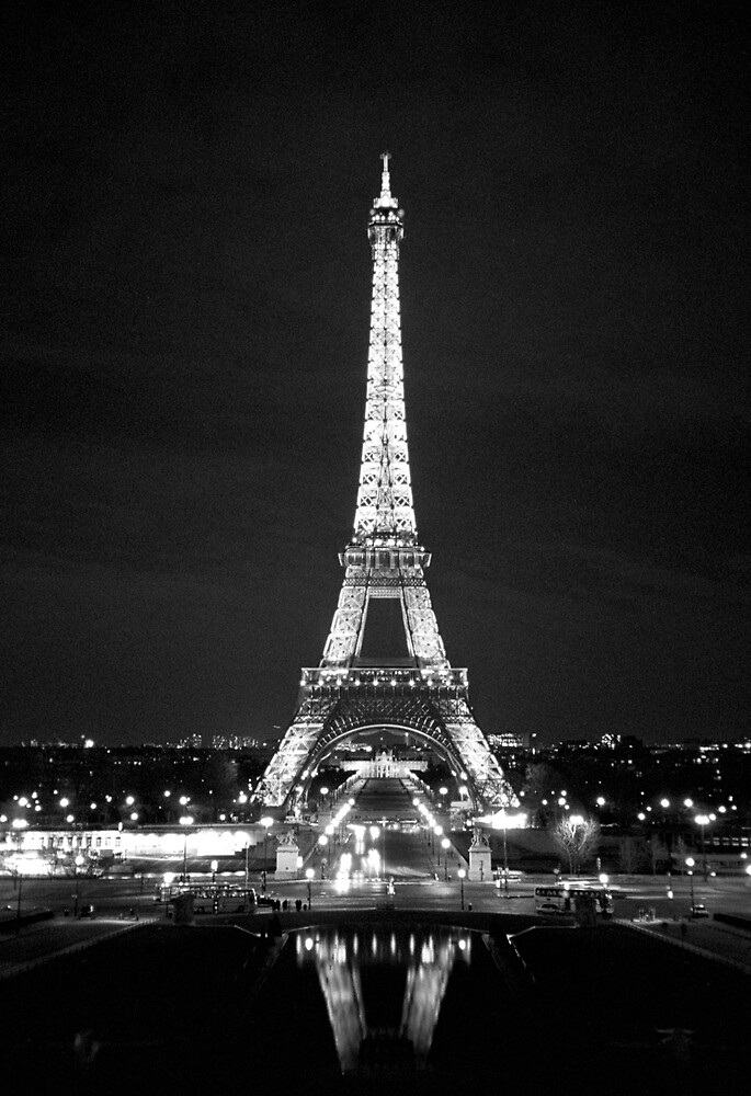 Eiffel Tower At Night by cinn