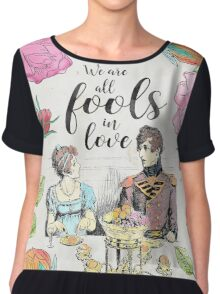 Pride and Prejudice - Fools in Love Chiffon Top