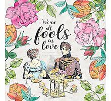 Pride and Prejudice - Fools in Love Photographic Print