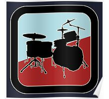 drums Sign Poster