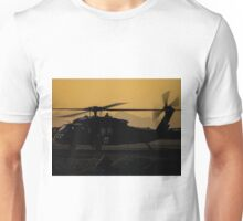 US Army Blackhawk Medic helicopter Unisex T-Shirt