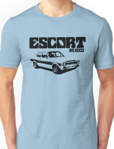 Ford Escort RS 2000 Men's Classic Car T-Shirt Unisex T-Shirt