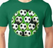 Soccer Ball Football Pattern Unisex T-Shirt