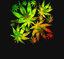 Marijuana Cannabis Leaves Pattern Unisex T-Shirt