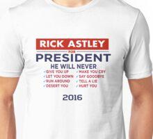 Rick Astley For President - Tshirt Unisex T-Shirt