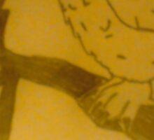 Tangled Owl Sticker