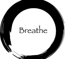 Breathe Symbol of Zen by cinn