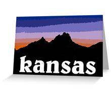 Kansas  Greeting Card