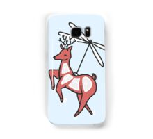 Helicopter. Deer. At the same time Samsung Galaxy Case/Skin