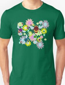 Bees & Flowers Unisex T-Shirt