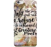 literature and poetry iPhone Case/Skin