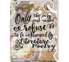 literature and poetry iPad Case/Skin