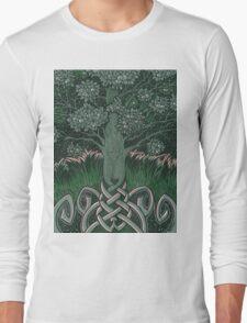 Tree of cognizance - acrylic on board Long Sleeve T-Shirt