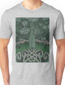 Tree of cognizance - acrylic on board Unisex T-Shirt