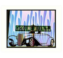 Gasoline Alley Drive Art Print