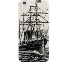 Leaving Port iPhone Case/Skin