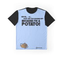 "Portal 2 Funny Clothing ""I'm a potato"" Graphic T-Shirt"