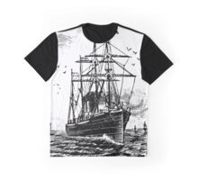 Leaving Port Graphic T-Shirt