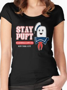 Stay Puft Marshmallow Women's Fitted Scoop T-Shirt