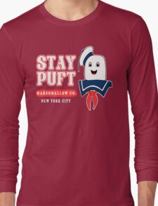 Stay Puft Marshmallow Long Sleeve T-Shirt