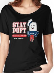 Stay Puft Marshmallow Women's Relaxed Fit T-Shirt