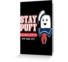 Stay Puft Marshmallow Greeting Card