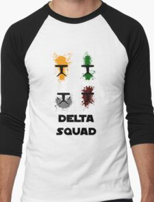 Republic Commando - Delta Squad Men's Baseball ¾ T-Shirt